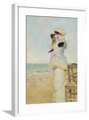 En Vue-Vicente Palmaroli y Gónzalez-Framed Art Print