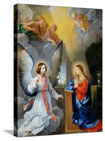 The Annunciation-Guido Reni-Stretched Canvas Print