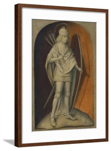 Saint Sebastian--Framed Art Print