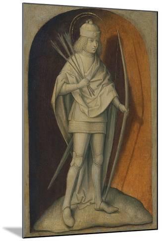 Saint Sebastian--Mounted Giclee Print