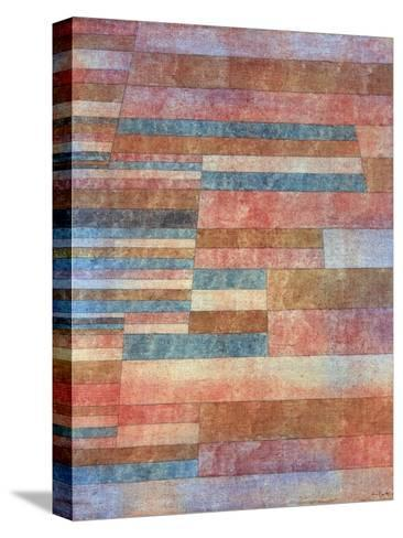 Steps-Paul Klee-Stretched Canvas Print