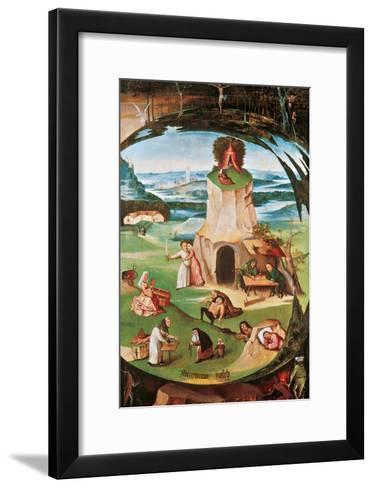 The Seven Deadly Sins-Hieronymus Bosch-Framed Art Print