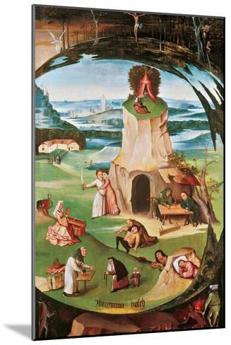The Seven Deadly Sins-Hieronymus Bosch-Mounted Giclee Print