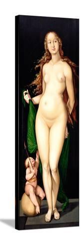 Venus and Amor-Hans Baldung-Stretched Canvas Print