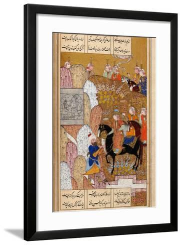 Shirin Visiting Farhad--Framed Art Print