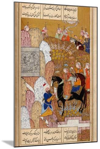 Shirin Visiting Farhad--Mounted Giclee Print