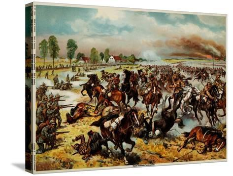 The Battle of Tannenberg, August 1914--Stretched Canvas Print