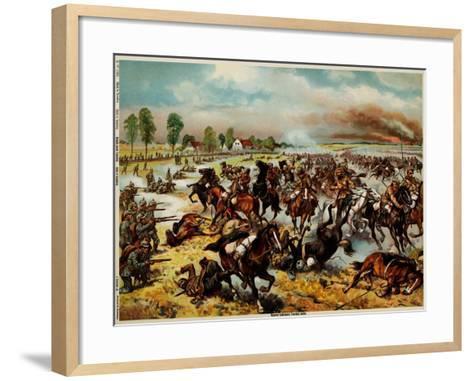 The Battle of Tannenberg, August 1914--Framed Art Print