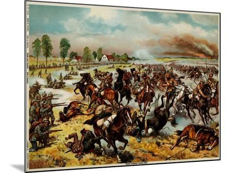 The Battle of Tannenberg, August 1914--Mounted Giclee Print
