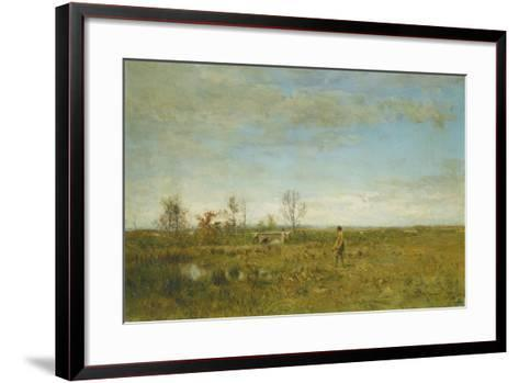 Hunters in Pont Long-Ivan Pavlovich Pokhitonov-Framed Art Print