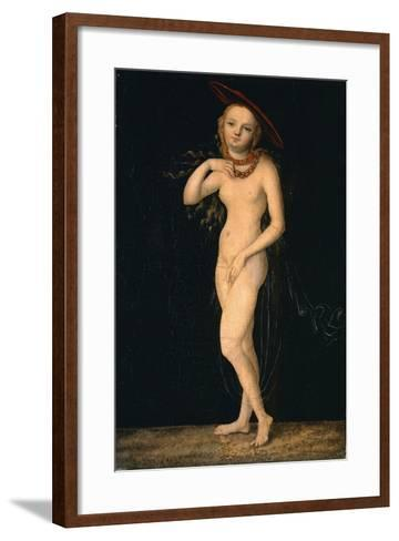 Venus-Lucas Cranach the Elder-Framed Art Print