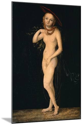 Venus-Lucas Cranach the Elder-Mounted Giclee Print