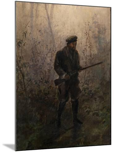 Hunter in the Forest-Ivan Pavlovich Pokhitonov-Mounted Giclee Print