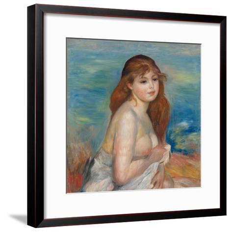 After the Bath-Pierre-Auguste Renoir-Framed Art Print