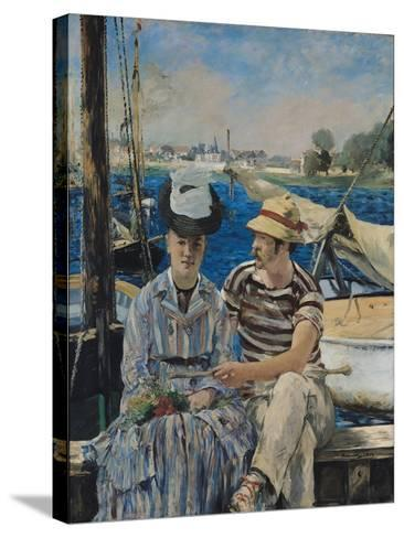 Argenteuil-Edouard Manet-Stretched Canvas Print