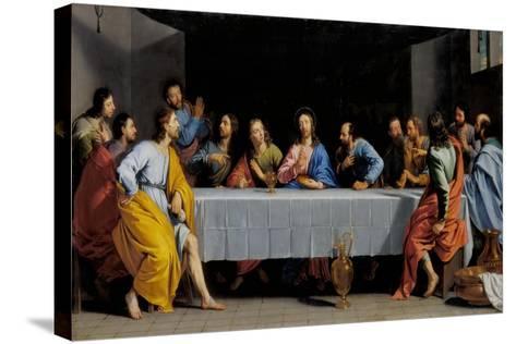 The Last Supper-Philippe De Champaigne-Stretched Canvas Print