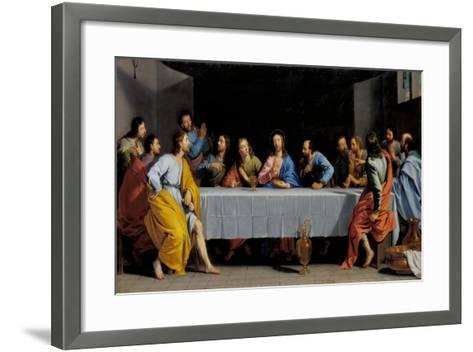 The Last Supper-Philippe De Champaigne-Framed Art Print