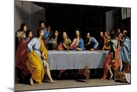 The Last Supper-Philippe De Champaigne-Mounted Giclee Print