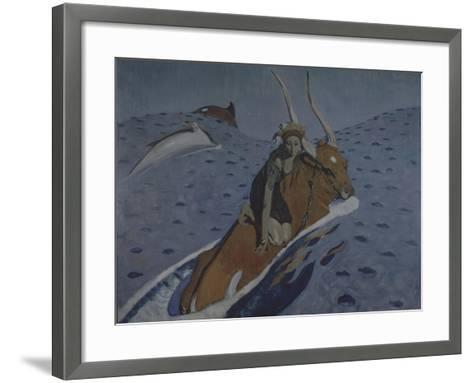 The Rape of Europa-Valentin Alexandrovich Serov-Framed Art Print
