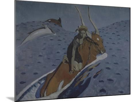 The Rape of Europa-Valentin Alexandrovich Serov-Mounted Giclee Print
