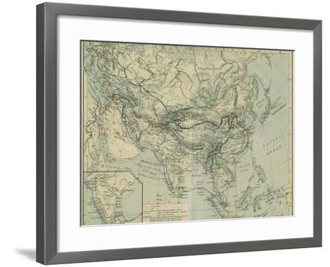 Medieval Commerce from the Historical Atlas-William Robert Shepherd-Framed Art Print