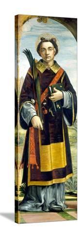 Saint Stephen-Bernardo Zenale-Stretched Canvas Print