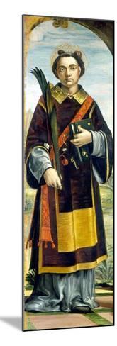 Saint Stephen-Bernardo Zenale-Mounted Giclee Print
