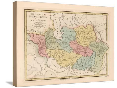 Imperium Parthicum (Parthian Empir)-Robert Wilkinson-Stretched Canvas Print