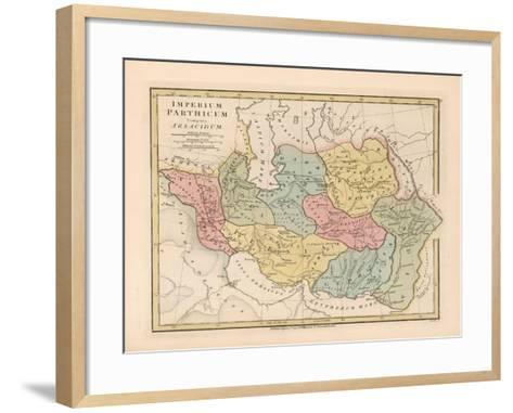Imperium Parthicum (Parthian Empir)-Robert Wilkinson-Framed Art Print