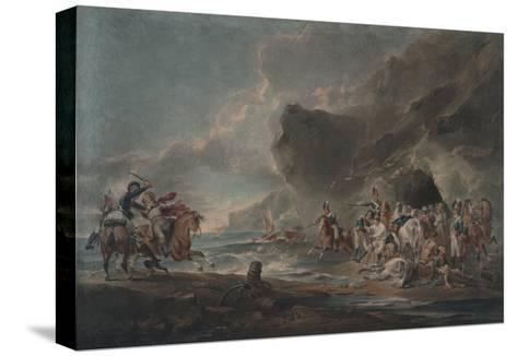 Smugglers Defeated, 1795-1798-Sir Peter Francis Bourgeois-Stretched Canvas Print