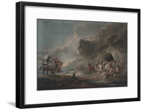 Smugglers Defeated, 1795-1798-Sir Peter Francis Bourgeois-Framed Art Print