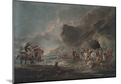 Smugglers Defeated, 1795-1798-Sir Peter Francis Bourgeois-Mounted Giclee Print
