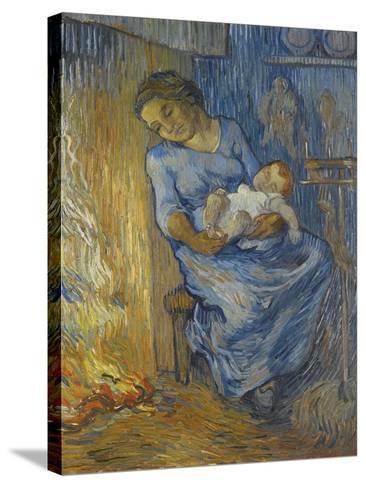 L'Homme Est En Mer-Vincent van Gogh-Stretched Canvas Print