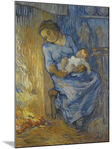 L'Homme Est En Mer-Vincent van Gogh-Mounted Giclee Print