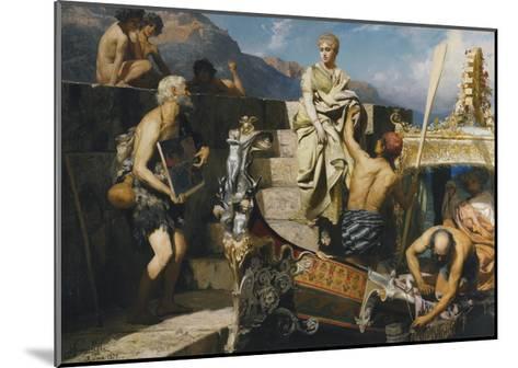Shipwrecked Beggar-Henryk Siemiradzki-Mounted Giclee Print