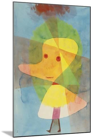 Small Garden Ghost-Paul Klee-Mounted Giclee Print