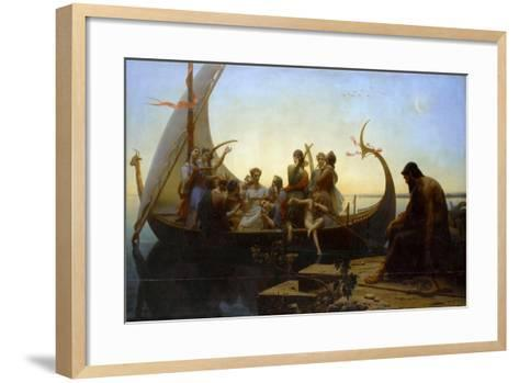 Lost Illusions (The Evening)-Charles Gleyre-Framed Art Print