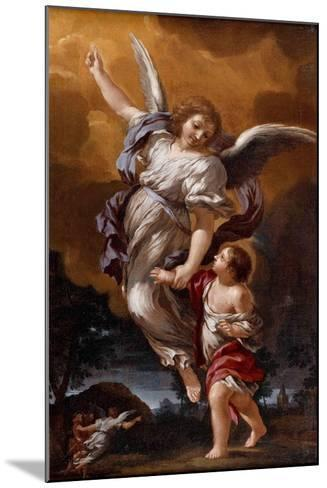 The Guardian Angel (After Pietro Da Corton)-Ciro Ferri-Mounted Giclee Print