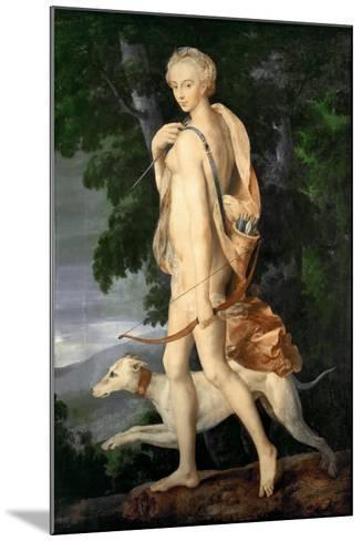 Diana the Huntress--Mounted Giclee Print