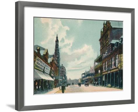Rissik Street, Johannesburg, C1908--Framed Art Print