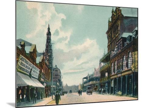 Rissik Street, Johannesburg, C1908--Mounted Giclee Print