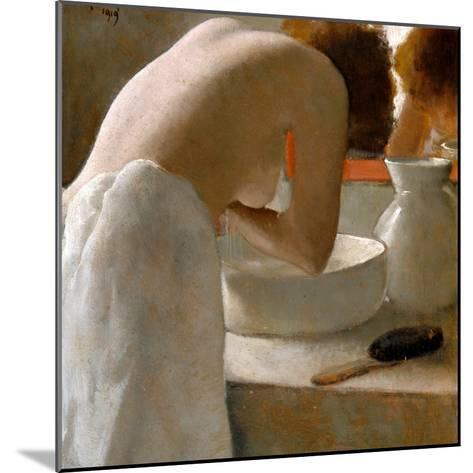 Woman Washing-Armand Rassenfosse-Mounted Giclee Print