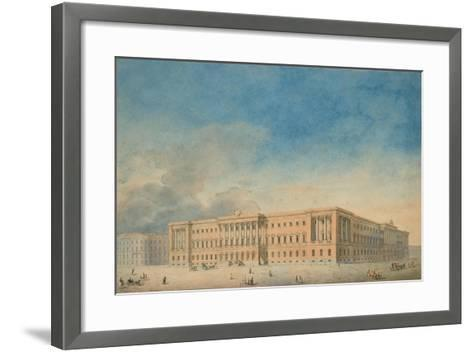 Lobanov-Rostovsky Palace in Saint Petersburg--Framed Art Print