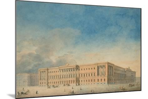 Lobanov-Rostovsky Palace in Saint Petersburg--Mounted Giclee Print