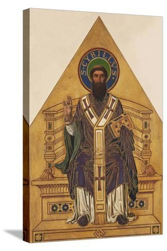 Saint Cyril-Frantisek Sequens-Stretched Canvas Print