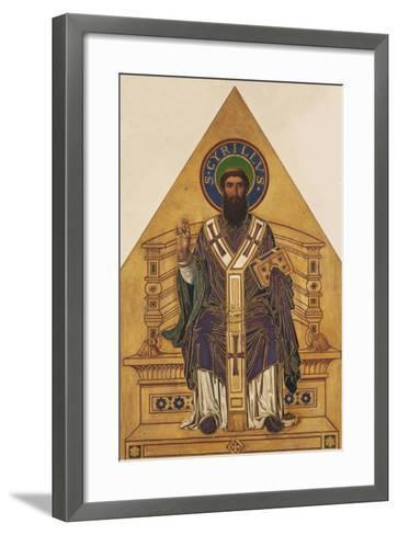 Saint Cyril-Frantisek Sequens-Framed Art Print