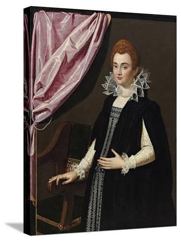 Portrait of Marie De Médici (1575-164)-Scipione Pulzone-Stretched Canvas Print