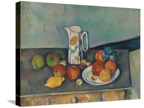 Still Life-Paul C?zanne-Stretched Canvas Print