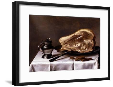 Still Life-Pieter Claesz-Framed Art Print