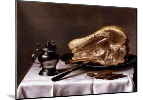 Still Life-Pieter Claesz-Mounted Giclee Print
